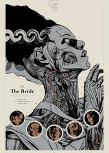 科学怪人的新娘海报