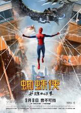 蜘蛛侠:英雄归来海报